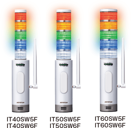 Wireless Tower Light (FCC Part 15 compliant wireless module) IT40SW5F/6F, IT50SW5F/6F, IT60SW5F/6F Series